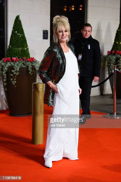 Joanna Lumley attends the EE British Academy Film Awards Gala Dinner at Grosvenor House on February 10 2019 in London England