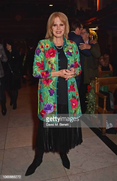 Joanna Lumley attends The Fayre Of St James's Christmas Concert presented by the Quintessentially Foundation and the Crown Estate in aid of The Felix...
