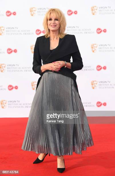 Joanna Lumley attends the Virgin TV BAFTA Television Awards at The Royal Festival Hall on May 14 2017 in London England
