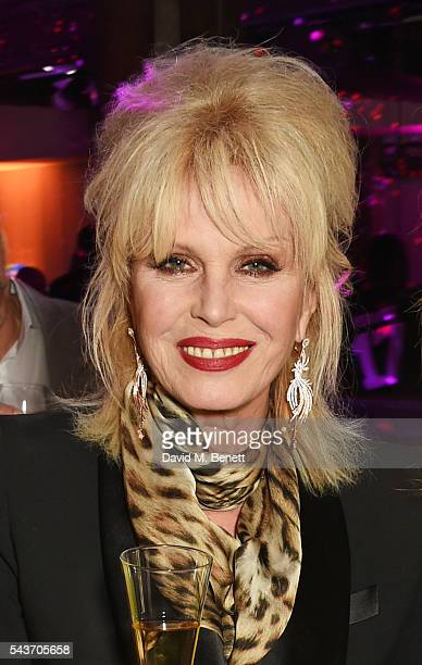Joanna Lumley attends the World Premiere after party of 'Absolutely Fabulous The Movie' at Liberty on June 29 2016 in London England