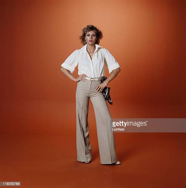 Joanna Lumley British actress 2nd September 1977