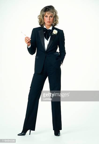 Joanna Lumley British actress 8th December 1981