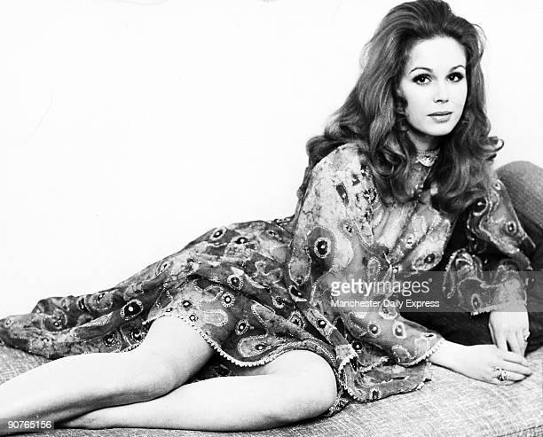 Joanna Lumley British actress September 1970