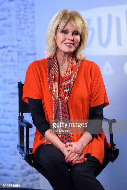 Joanna Lumley during a BUILD panel discussion on February 7 2018 in London England