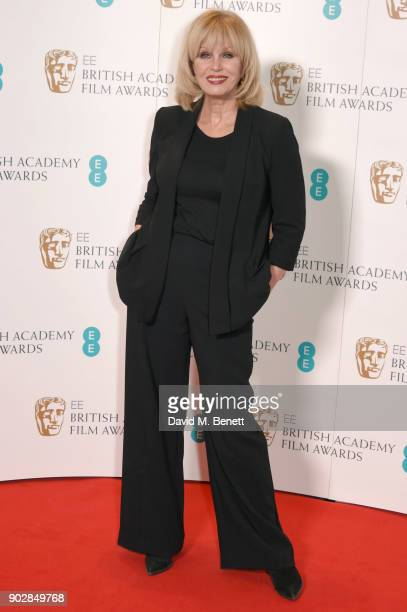 Joanna Lumley during The EE British Academy Film Award BAFTA nominations announcement at BAFTA on January 9 2018 in London England