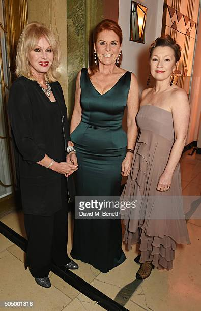Joanna Lumley Sarah Ferguson Duchess of York and Lesley Manville attend The Lady Garden Gala hosted by Chopard in aid of Silent No More...
