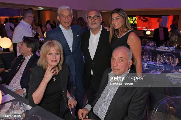 Joanna Lumley Simon Reuben Alan Yentob David Reuben and Lisa Reuben attend a private view of Stanley Kubrick The Exhibition at The Design Museum on...