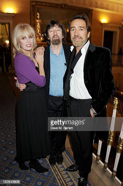 Joanna Lumley Sir Trevor Nunn and Robert Lindsay attend an after party following the Press Night performance of 'The Lion In Winter' at The Institute...