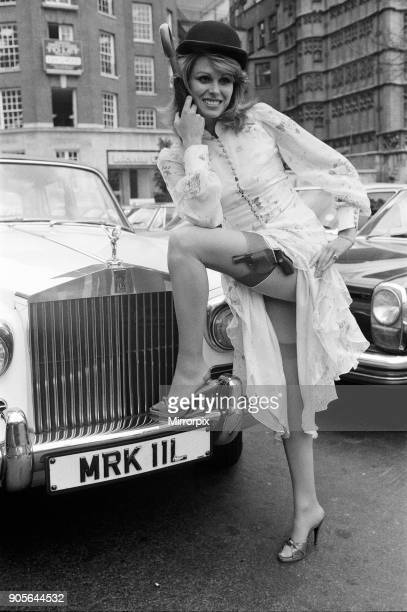 Joanna Lumley star on The New Avengers 8th March 1976