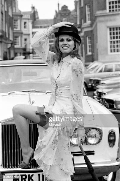 Joanna Lumley, star on The New Avengers. 8th March 1976.
