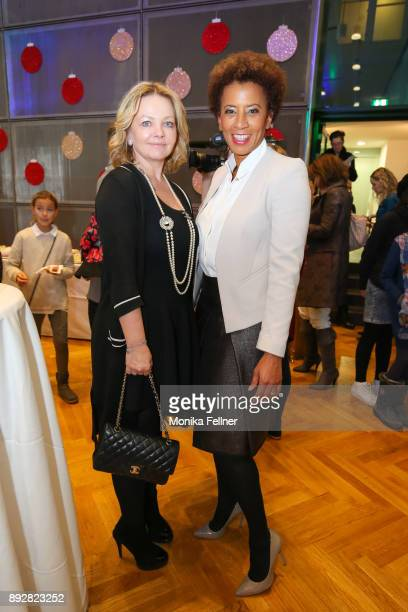 Joanna Mann and Arabella Kiesbauer attend the Energy for Life Christmas gala for Children at Hofburg Vienna on December 14 2017 in Vienna Austria