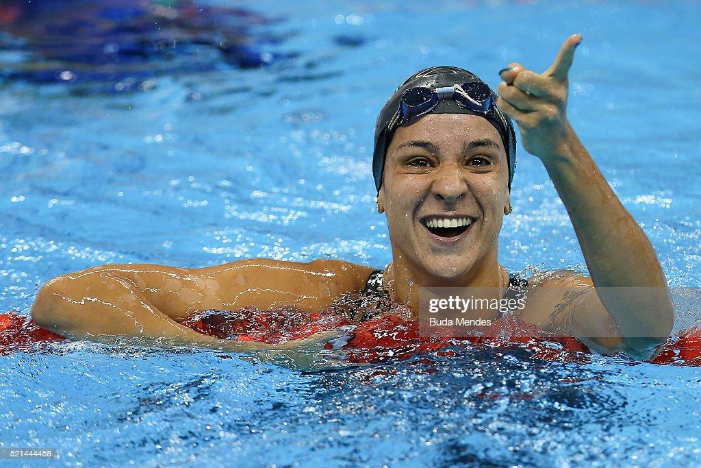Maria Lenk Swimming Trophy  - Aquece Rio Test Event for the Rio 2016 Olympics