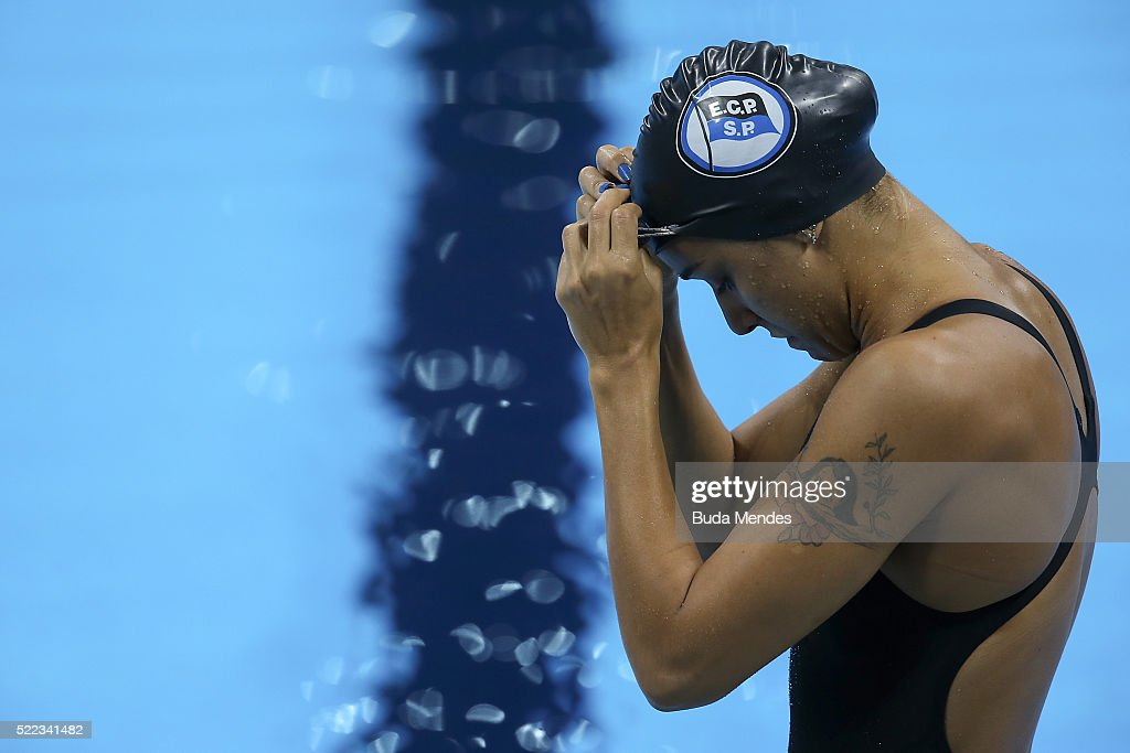 Maria Lenk Swimming Trophy  - Aquece Rio Test Event for the Rio 2016 Olympics - Day 4