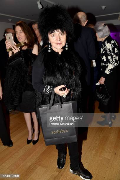 """Joanna Mastroianni attends Barbara Tober hosts a party for """"AVEDON: Something Personal"""" at Museum of Art and Design on November 15, 2017 in New York..."""