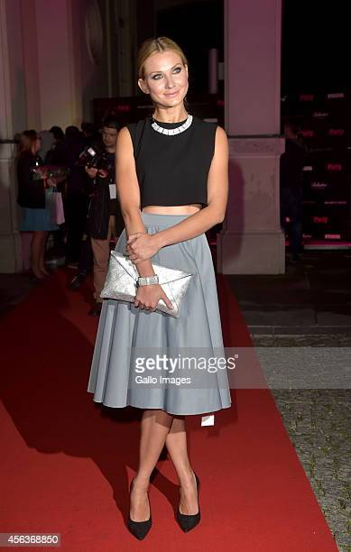 Joanna Moro attends' Party Zycie Gwiazd' on September 29 2014 at the Amber Room in Warsaw Poland The Magazine hosted a Birthday Gala for 100 guests