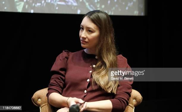 Joanna Natasegara attends a screening of the Netflix Documentary, The Edge Of Democracy at Soho Hotel on October 31, 2019 in London, England.