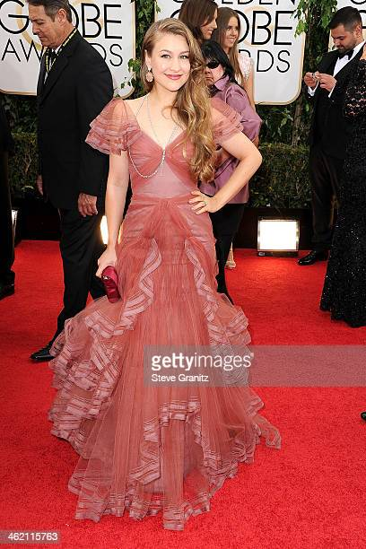 Joanna Newsom attends the 71st Annual Golden Globe Awards held at The Beverly Hilton Hotel on January 12 2014 in Beverly Hills California