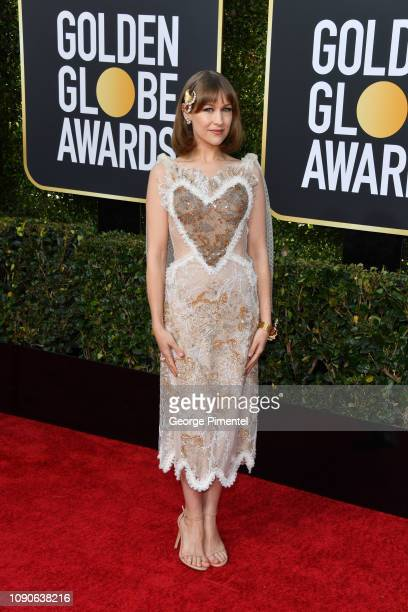 Joanna Newsom attends the 76th Annual Golden Globe Awards held at The Beverly Hilton Hotel on January 06 2019 in Beverly Hills California