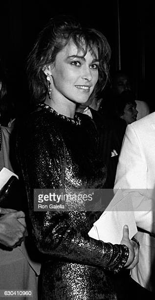 Joanna Pacula attends American Academy of Dramatic Arts Gala on June 10 1985 at the Vivian Beaumont Theater in New York City