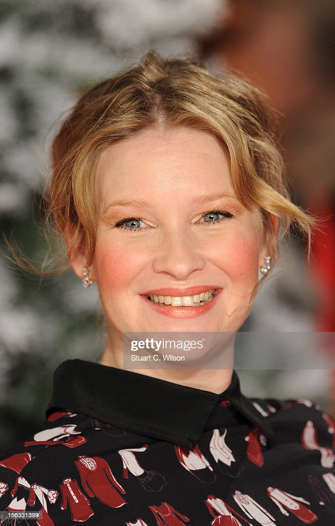 Joanna Page attends the 'Nativity 2: Danger In The Manger' premiere at Empire Leicester Square on November 13, 2012 in London, England.