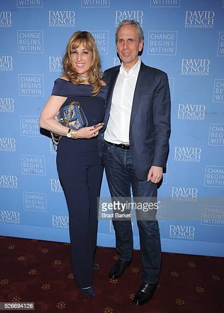 Joanna Plafsky and Joanna Plafsky attend An Amazing Night Of Comedy A David Lynch Foundation Benefit For Veterans With PTSD at New York City Center...