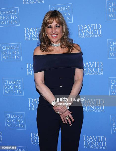 Joanna Plafsky attends An Amazing Night Of Comedy A David Lynch Foundation Benefit For Veterans With PTSD at New York City Center on April 30 2016 in...