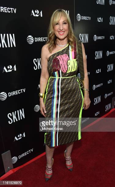 Joanna Plafsky attends the Los Angeles Special Screening of SKIN at ArcLight Hollywood on July 11 2019 in Hollywood California