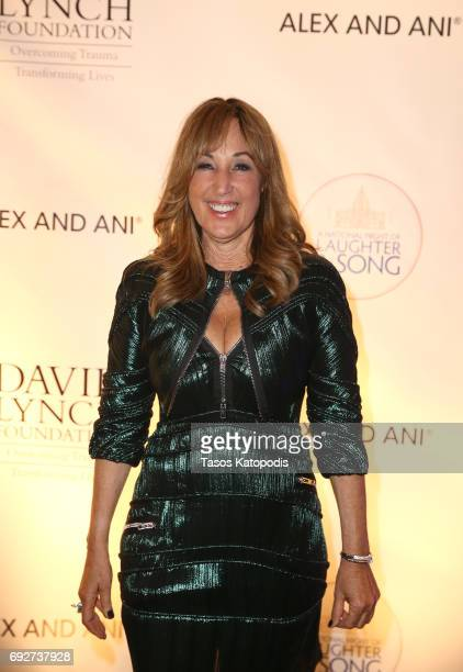 Joanna Plafsky attends the National Night Of Laughter And Song event hosted by David Lynch Foundation at the John F Kennedy Center for the Performing...
