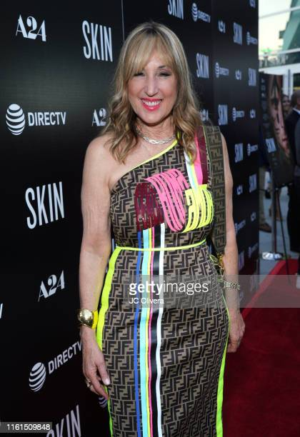 Joanna Plafsky attends the LA Special Screening Of A24's 'Skin' at ArcLight Hollywood on July 11 2019 in Hollywood California