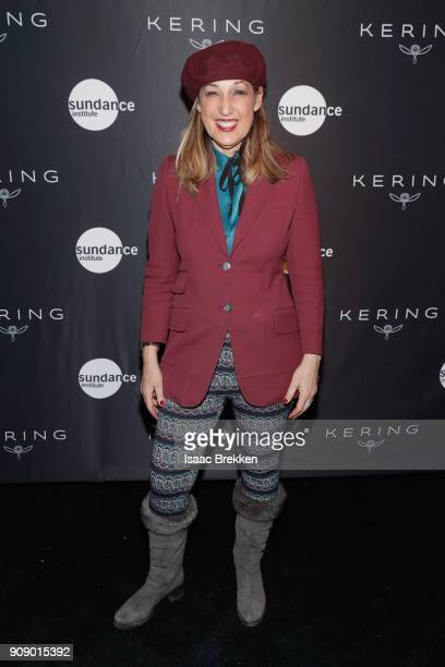 Joanna Plafsky attends the Women in Motion Talk Presented by Kering at The Sundance Film Festival at The Claim Jumper on January 22 2018 in Park City...