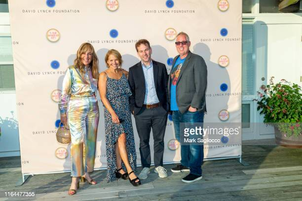 Joanna Plafsky Katie Couric Mike Birbiglia and Brian Koppelman attend the David Lynch Foundation 15th Anniversary at the Bridgehampton Tennis and...
