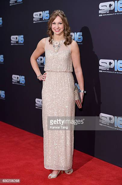 Joanna Rowsell attends the BBC Sports Personality Of The Year at Resorts World on December 18 2016 in Birmingham United Kingdom