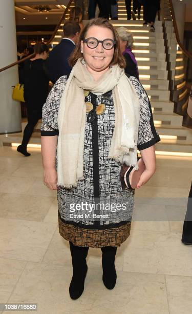 Joanna Scanlan attends the re-opening of the Royal Opera House on September 20, 2018 in London, England.