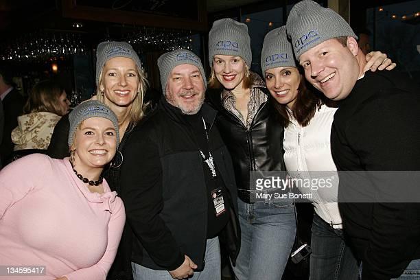 JoAnna Scott Darris Hatch Danny Robinson Penelope Ann Miller Alex Menenes and Scott Simpson