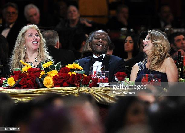 Joanna Shimkus, actor Sidney Poitier and Producer Lori McCreary in the audience at the 39th AFI Life Achievement Award honoring Morgan Freeman held...