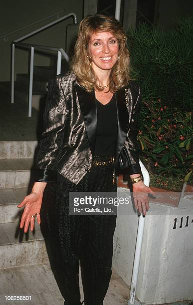 Joanna Shimkus during Joanna Shimkus Sighted at Spago Restaurant April 24 1987 at Spago in Hollywood California United States