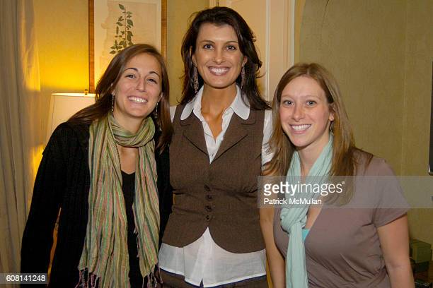 Joanna Sieghart Diana Bianchini and Agatha Capacchione attend MICHAEL S SMITH AGRARIA COLLECTION LAUNCH at Lowell Hotel on April 18 2007
