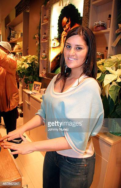 Joanna Simkin of Carols Daughter during Fantasia Barrino Signs Her Book Life is Not a Fairy Tale December 16 2005 at Carols Daughter Harlem Flagship...