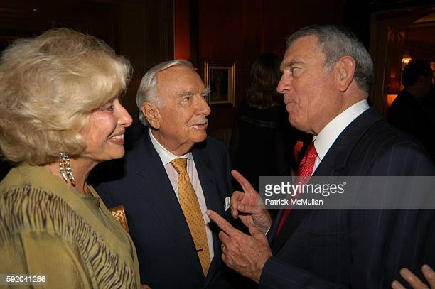 Joanna Simon Walter Cronkite and Dan Rather attend Walter Cronkite Hosts a Private Screening of Warner Independent Pictures' Good Night And Good Luck...