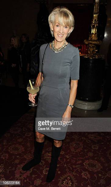 Joanna Trollope attends the global launch of Vertu Constellation Quest at Lancaster House on October 12 2010 in London England
