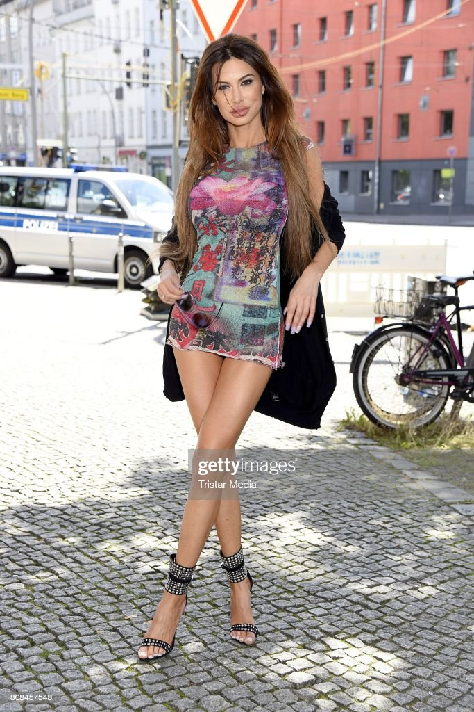 Lena Hoschek Arrivals - Mercedes-Benz Fashion Week Berlin Spring/Summer 2018