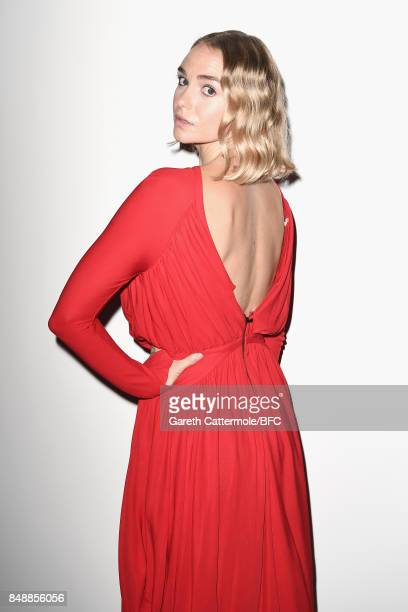 Joanna Vanderham attends the Antonio Berardi show during London Fashion Week September 2017 on September 18 2017 in London England