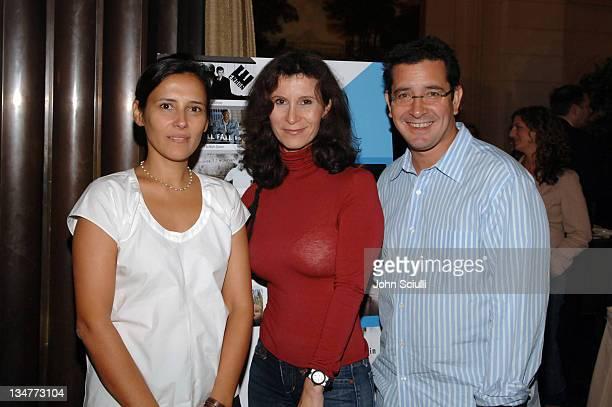 Joanna Vicnet, HD Net producer, Katherine Oliver, New York City film commisioner and Jason Kliot, HD Net producer