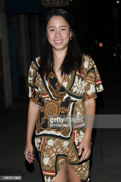Joanne Chew is seen on November 16 2018 in Los Angeles CA