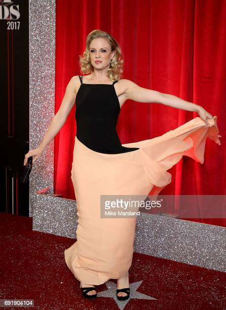 Joanne Clifton attends The British Soap Awards at The Lowry Theatre on June 3 2017 in Manchester England The Soap Awards will be aired on June 6 on...
