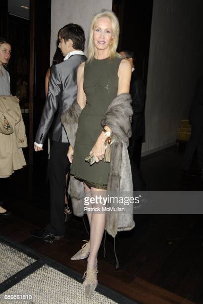 Joanne de Guardiola attends Gwyneth Paltrow and VBH's Bruce Hoeksema Host Cocktail Party for Valentino The Last Emperor at VBH on October 27 2009 in...