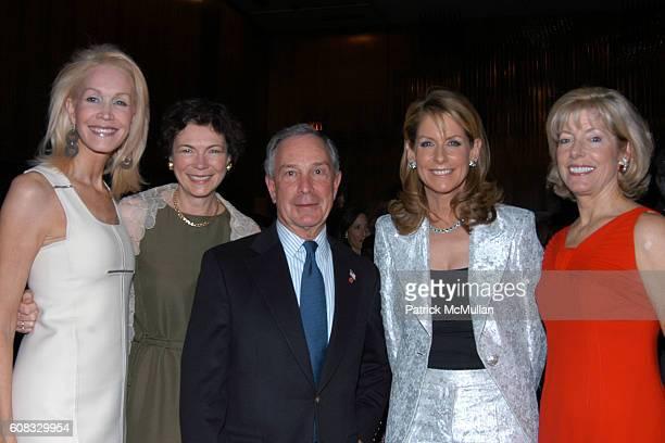Joanne de Guardiola Diana Taylor Mayor Michael Bloomberg Perri Peltz and Liz Peek attend The Irvington Institute For Immunological Research's 25th...