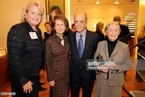 Joanne Dean Betsey Barbanell Robert Barbanell and Edith Rudolph attend The JACKSON LABORATORY Reception Featuring Kevin Mills PhD at BVLGARI on...