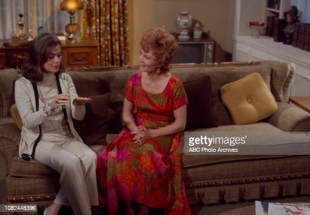 Joanne Dru Janet Blair appearing in the Walt Disney Television via Getty Images series 'The Smith Family'