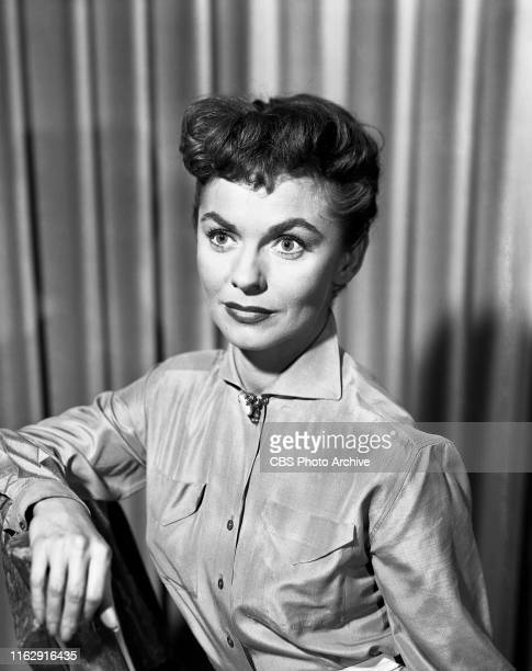 Joanne Dru stars in the CBS television anthology series Schlitz Playhouse of Stars episode titled The Gentle Stranger Originally broadcast February 3...